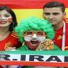 تصاویر دیدنی از هواداران ایرانی در حاشیه دیدار ایران و اسپانیا !