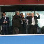 تصاویری از شادی جالب وزیر ورزش و علی کفاشیان در روسیه!