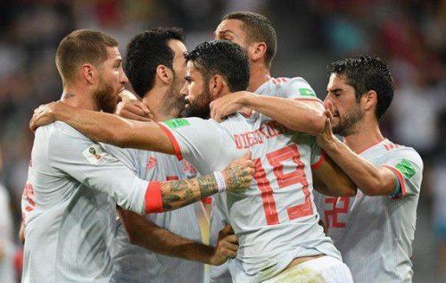 شکست ایران برابر اسپانیا