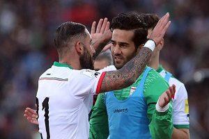 اعلام اسامی کاپیتان های تیم ملی ایران در جام جهانی ۲۰۱۸ روسیه