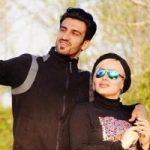 عکس های خانوادگی حسین ماهینی با همسر و دخترش مایسا