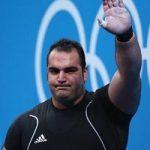 خداحافظی بهداد سلیمی از وزنه برداری بعد از کسب مدال طلا!