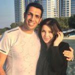 جشن سالگرد ازدواج سپهر حیدری و همسرش