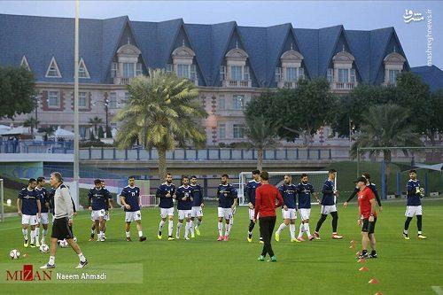 تصاویری از تمرین تیم ملی فوتبال بعد از اعلام لیست ۲۳ نفره