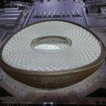 تصاویری از مراسم رونمایی از ورزشگاه لوسیل قطر