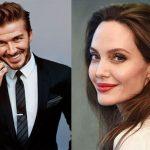 انتشار شایعاتی پیرامون رابطه جدید آنجلینا جولی و دیوید بکهام