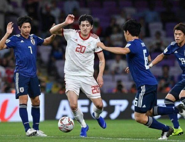 باخت ایران مقابل ژاپن