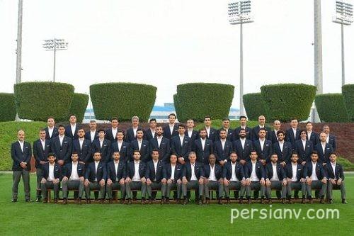 لباس های رسمی بازیکنان تیم ملی در رقابت های آسیایی + عکس