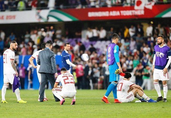 اشتباه دفاع ایران روحیه ی تیم را با خوردن گل بهم ریخت