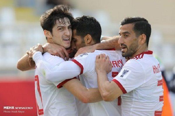 بازی تیم ایران و ژاپن