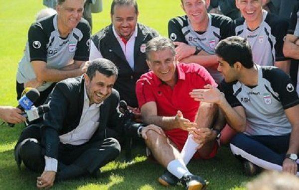 احمدی نژاد کی روش را سوپرایز کرد