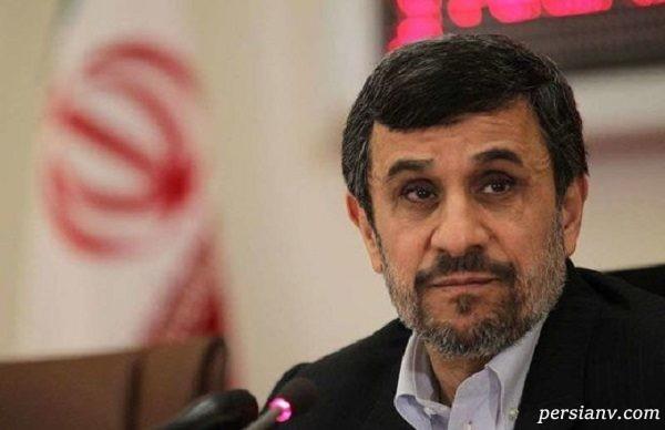 احمدی نژاد در ورزشگاه آزادی برای طرفداری استقلال