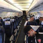 حواشی جالب هواپیمای پرسپولیس + تصاویر