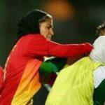 درگیری شدید دختران فوتبالیست در لیگ برتر فوتبال بانوان!! + تصاویر