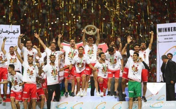 جنجالی ترین قهرمانی پرسپولیس در جام حذفی + تصاویر
