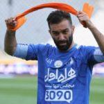حنیف عمران زاده فوتبالیست سابق حالا پشت دوربین رفته است !