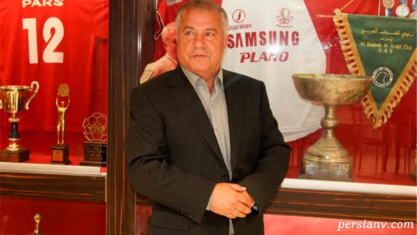 انتقاد علی پروین از وزارت ورزش