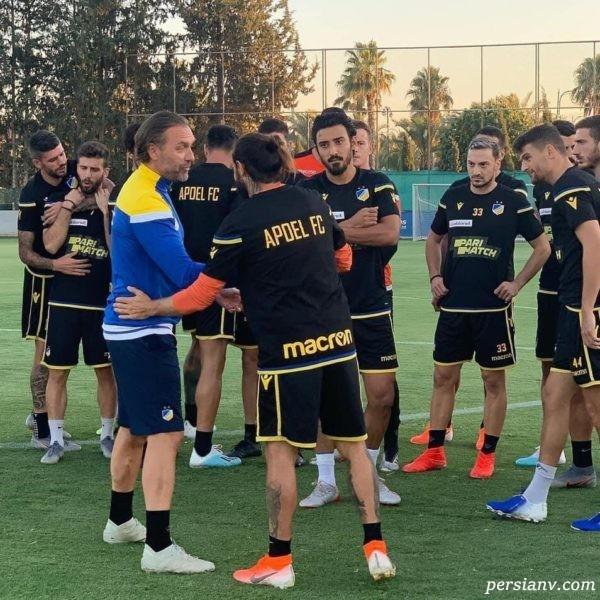 تیم جدید قوچان نژاد
