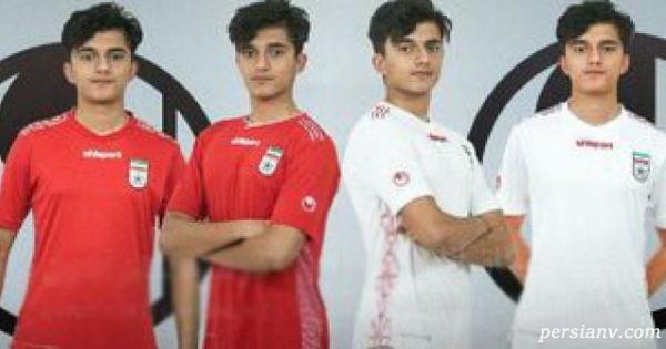 جنجال طرح جدید پیراهن تیم ملی ایران با مدل های عجیب