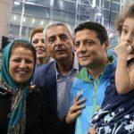تصاویری از علیرضا فغانی و دخترش قبل از ترک ایران