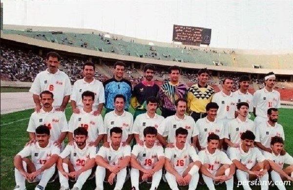 اولین تیم ملی فوتبال ایران بعد از انقلاب اسلامی که به کربلا رفتند