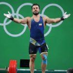 شانس کیانوش رستمی وزنه برداری در سوئیس به چالش کشیده شده است