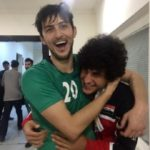 تحسین رسانه های عراقی برای رابطه صمیمی بازیکنان تیم عراق و ایرانی در تمرینات