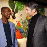 دیدار دوستانه اسطوره های ایرانی با کلارنس سیدورف فوتبالیست سابق هلندی