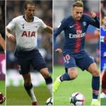 ارزشمندترین فوتبالیست های جهان از نظر موسسه آماری مطالعاتی