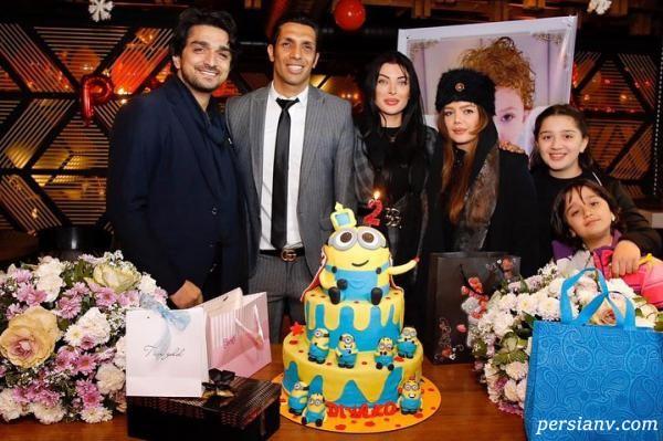 جشن تولد پسر سپهر حیدری