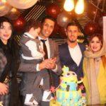 پسر سپهر حیدری ؛ جشن تولد پسر سپهر حیدری با حضور هنرمندان و فوتبالیست ها
