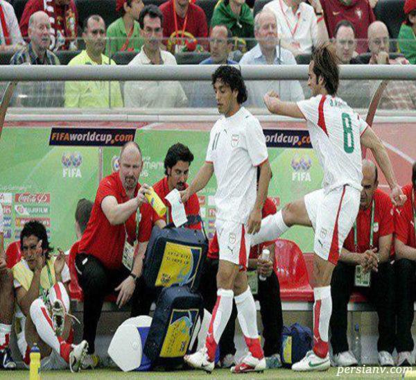 علی کریمی در جام جهانی 2006