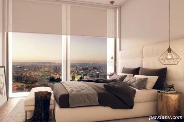 اتاق خواب خانه رونالدو در پرتغال