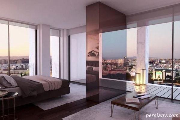 آپارتمان لاکچری یازده میلیون دلاری رونالدو در پایتخت پرتغال