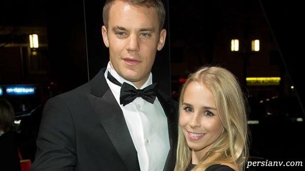 یک طلاق خبرساز در فوتبال ؛ جدایی مانوئل نویر بازیکن فوتبال آلمان از همسرش