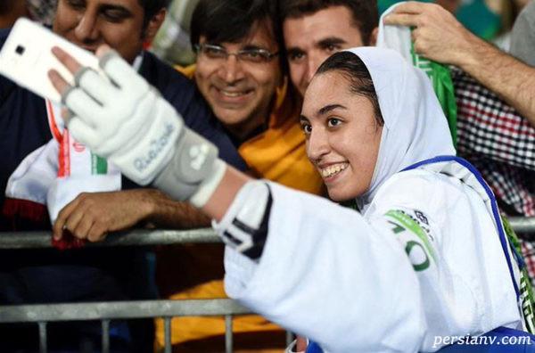 مهاجرت کیمیا علیزاده به هلند ، تنها زن مدال آور در المپیک هم رفت ؟