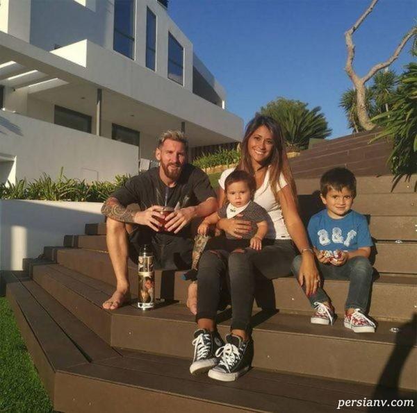 خانه لیونل مسی و خانواده اش