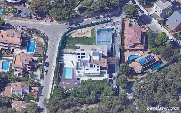 خانه لیونل مسی