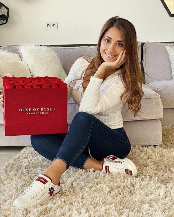 سوپرایز عاشقانه آنتونلا در روز عشق