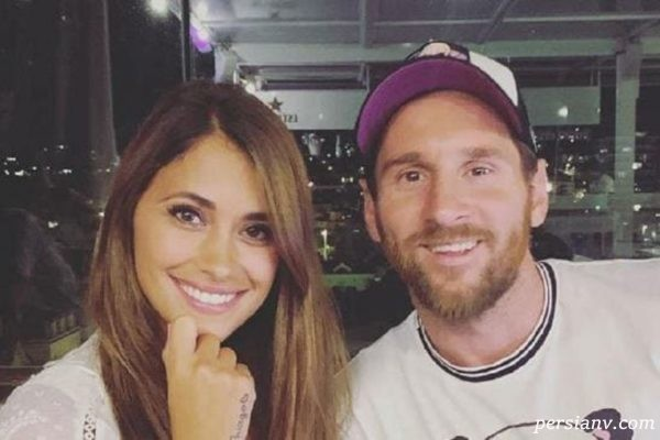 سوپرایز عاشقانه لیونل مسی برای همسرش آنتونلا روکوزو در روز عشق