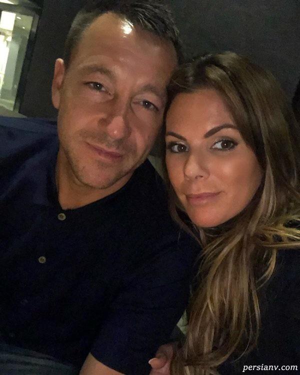 تری و همسرش