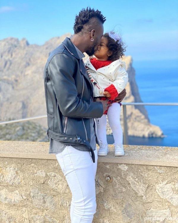 لاگو جونیور و دخترش