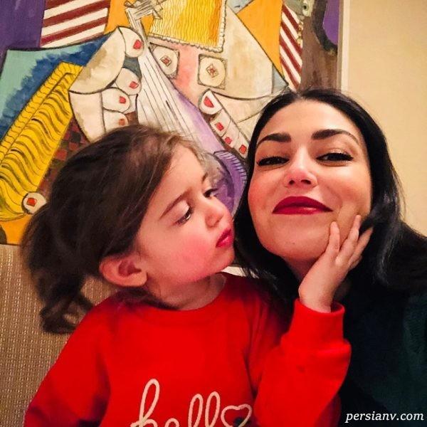 دلیلا استراما و دخترش