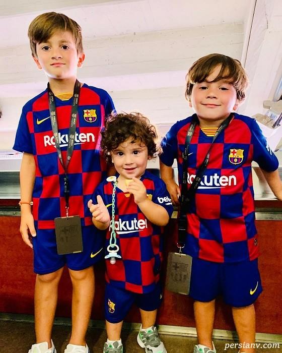 سه فرزند مسی