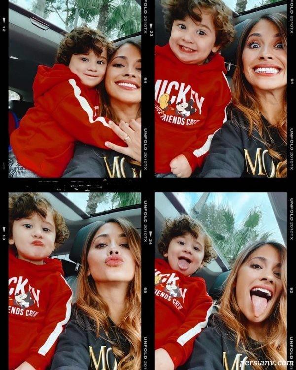 همسر و فرزند مسی