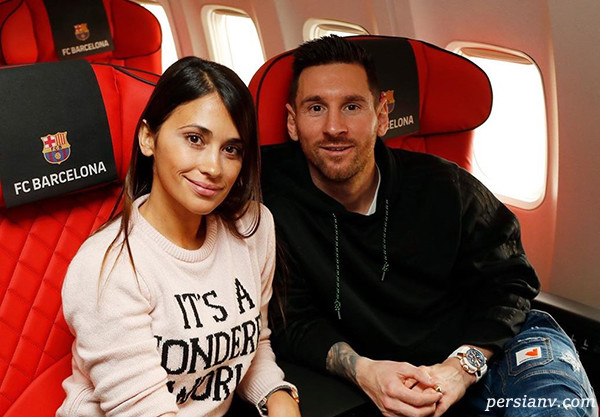 جت اختصاصی لیونل مسی ستاره آرژانتینی بارسلونا