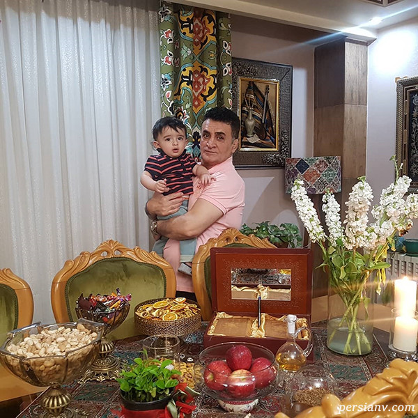 محمد بنا و پسرش