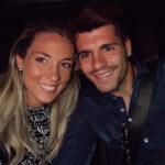 آلوارو موراتا و همسرش زوج جنجالی فوتبال اسپانیا در گردش مادرید
