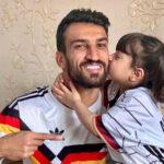 حسین ماهینی و دخترش با دلنوشته آقای فوتبالیست برای مایسا خانم
