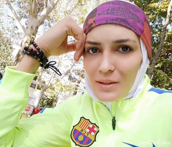 عکس های الهه منصوریان برترین ورزشکار ایران و قهرمان لیگ حرفه ای چین